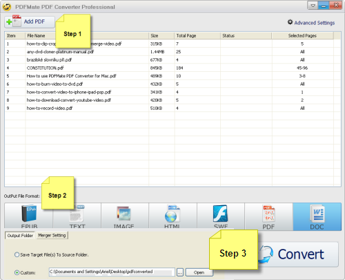 how to batch print pdf files in order